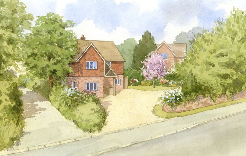 New house in Ardingly, West Sussex